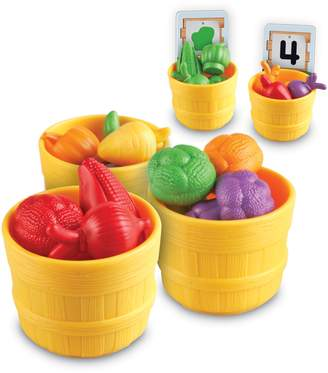 Learning Resources 46-Piece Veggie Farm Sorting Set