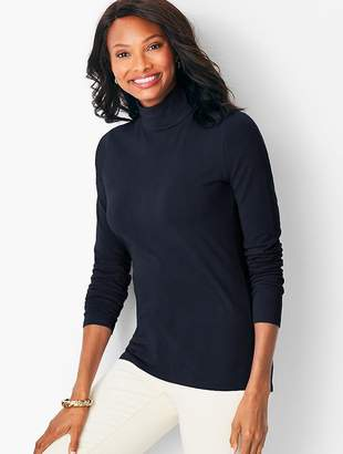 Talbots Solid Turtleneck