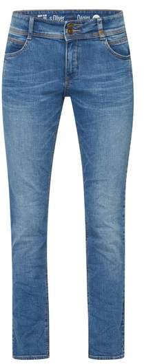s.Oliver RED LABEL Stone Washed Slim Fit Jeans