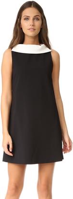 alice + olivia Bellini Shift Dress with Collar $275 thestylecure.com