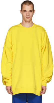 Y/Project Yellow Paneled Hoodie