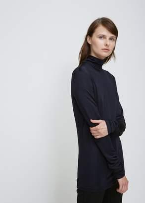 Cédric Charlier Velvet Turtleneck Shirt