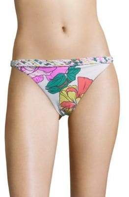 6 Shore Road Domingo Floral Printed Bikini Bottom
