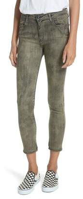 BROCKENBOW Reina Camille Camouflage Skinny Jeans