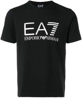 Emporio Armani Ea7 metallic logo T-shirt