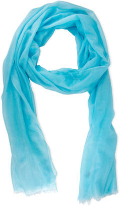 Saachi Turquoise Cashmere Scarf