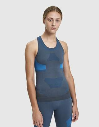 adidas by Stella McCartney Training Seamless Tank in Granite
