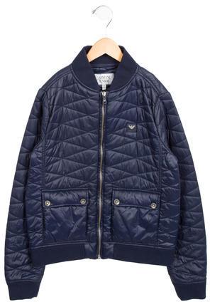 Armani JuniorArmani Junior Boys' Quilted Lightweight Jacket
