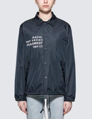 Sacai X Fragment Design X Fragment Coach Jacket