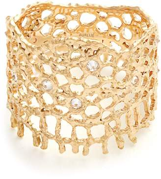 Aurelie Bidermann FINE JEWELLERY Diamond & yellow-gold ring