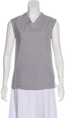 Max Mara 'S Striped Sleeveless Top