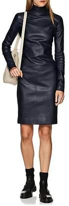 The Row Women's Beattia Leather Dress - Navy