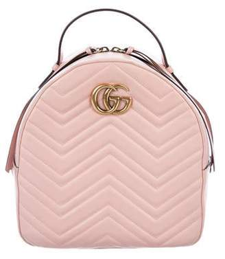d7715679e19c Gucci 2017 GG Marmont Quilted Leather Backpack