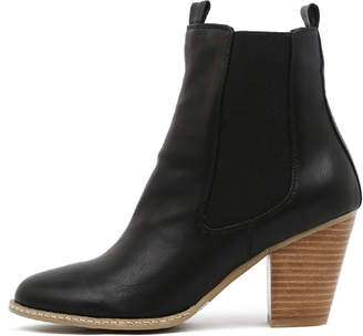 I Love Billy New Cappy Black Womens Shoes Casual Boots Ankle