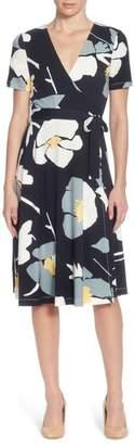 Catherine Malandrino Taral Floral Faux Wrap Dress