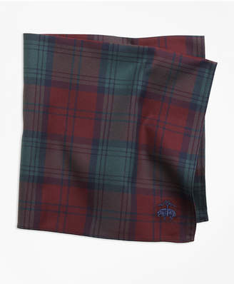 Brooks Brothers Lindsay Tartan Pocket Square