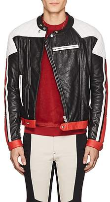 Givenchy Men's Quilted Leather Moto Jacket