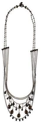 Chloé Crystal Beaded Multistrand Necklace