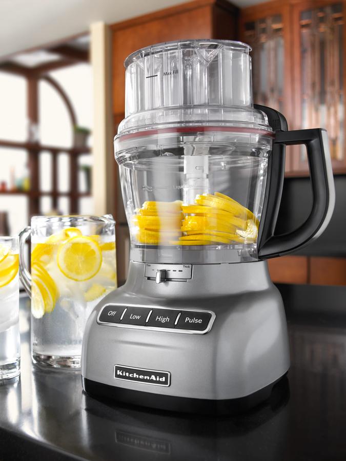 KitchenAid Silver 13-Cup Food Processor