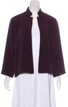 Eileen Fisher Long Sleeve Open Front Jacket