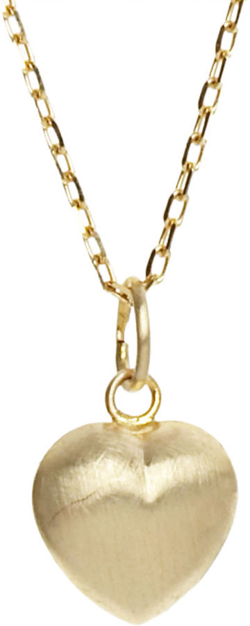 Pratt's Bianca Pratt Puffed Heart Necklace