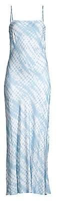 STAUD Women's July Printed Midi Dress - Size 0