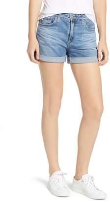 AG Jeans The Hailey Cuff Denim Shorts