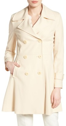 Women's Trina Turk Rosemarie Skirted Trench Coat $425 thestylecure.com