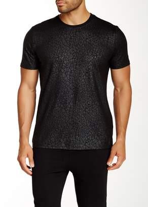 Eleven Paris ELEVENPARIS Gatrick Crackled Print T-Shirt