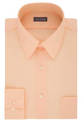 fb7c0fa6429c6f Van Heusen Men's Poplin Regular Fit Solid Point Collar Dress Shirt