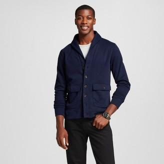 Merona Men's Shawl Collar Cardigan Sweater Navy $29.99 thestylecure.com