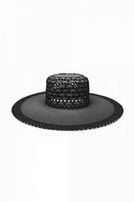Luisa Spagnoli Widebrim Raffia Hat