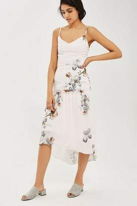 Hope and Ivy **Tiered Camisole Dress in Floral Print by Hope & Ivy