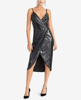 Rachel Roy Nisha Sequined Tulip-Hem Dress