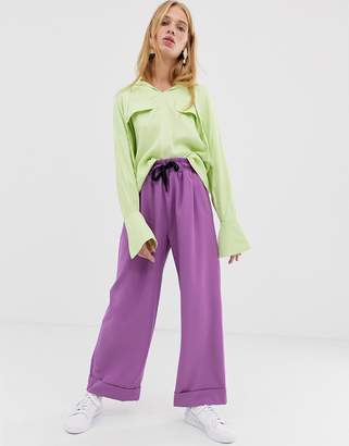 Asos casual crepe pants