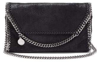 Stella McCartney Falabella Faux Leather Mini Cross Body Bag - Womens - Black