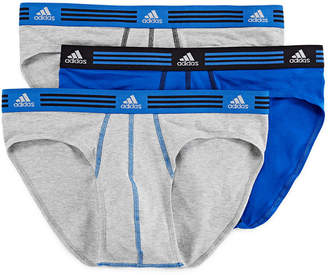 adidas 3-pk. Athletic Stretch climalite Briefs