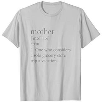 DAY Birger et Mikkelsen Mom Definition Shirt Solo Grocery Trip Funny Mother Gift