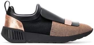 Sergio Rossi block colour sneakers