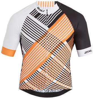 2XU Checked performance cycling top