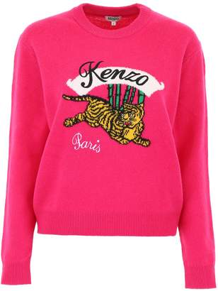 Kenzo Bamboo Tiger Pull