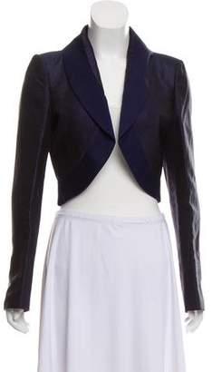 Salvatore Ferragamo Silk Evening Jacket