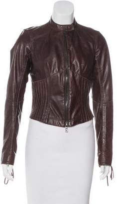 Prada Sport Lightweight Leather Jacket
