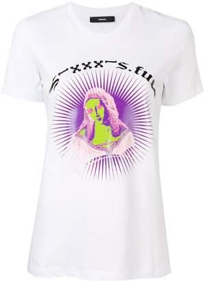 Diesel graphic print slim T-shirt