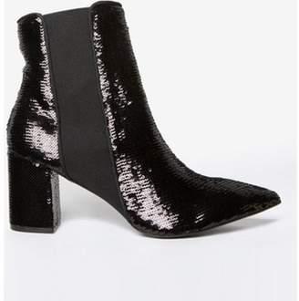 Dorothy Perkins Womens Black 'Annika' Chelsea Boots
