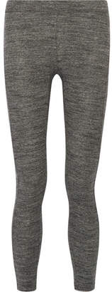James Perse Stretch-cotton Jersey Leggings - Gray