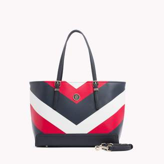 Tommy Hilfiger Large Print Tote