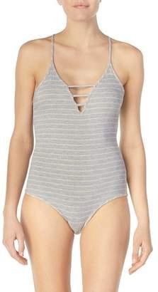 Nordstrom Room Service Stripe Bodysuit Exclusive)