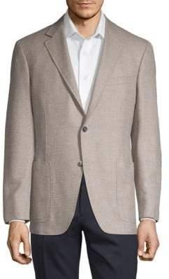 Canali Regular-Fit Wool & Cashmere Blend Blazer