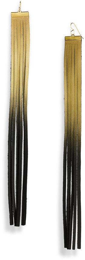 Daly Bird 'Carmin' Ultra Long Fringe Earrings